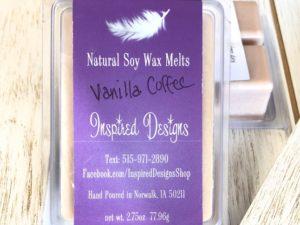 Vanilla Coffee Clamshell Melts