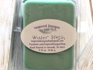 Winter Fresh Soy Wax Melts